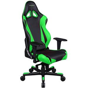 Scaun gaming DXRacer OH/RJ001/NE Racing Black / Green