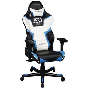 Scaun gaming DXRacer OH/RJ118/NBW/ZERO Racing Zero Black / White / Blue