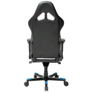 Scaun gaming DXRacer OH/RT110/NWB Racing Black / White / Blue