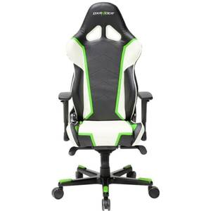 Scaun gaming DXRacer OH/RT110/NWE Racing Black / White / Green