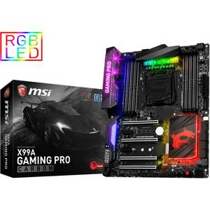 Placa de baza MSI X99A GAMING PRO CARBON Intel LGA2011-3 ATX