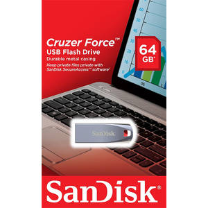 Memorie USB Sandisk Cruzer Force 64GB USB 2.0