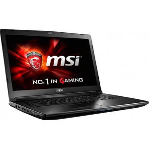 Laptop MSI GL72 6QD 17.3 inch Full HD Intel Core i7-6700HQ 8GB DDR4 1TB HDD nVidia GeForce GTX 950M 2GB Black