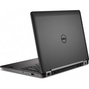 Laptop Dell Latitude E7470 14 inch Quad HD Touch Intel Core i5-6300U 8GB DDR4 256GB SSD BacklitKB FPR Windows 7 Pro upgrade Windows 10 Pro Black
