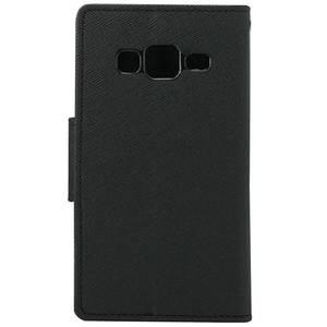 Husa Flip Cover Generic My-Fancy pentru Samsung Galaxy Core Prime G360 Negru