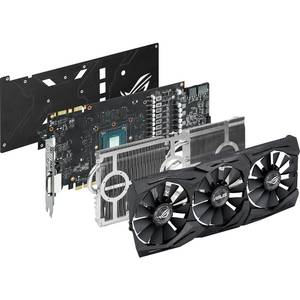 Placa video Asus nVidia GeForce GTX 1080 STRIX GAMING A8G 8GB DDR5X 256bit