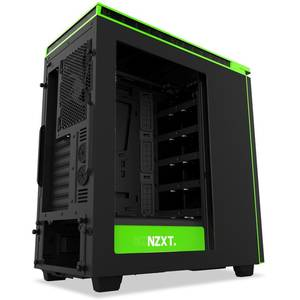 Carcasa NZXT H440 New Edition Black Green Window