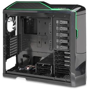 Carcasa NZXT Phantom Black Green