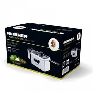 Friteuza Heinner HDF-1850XMC 1850W argintiu / negru