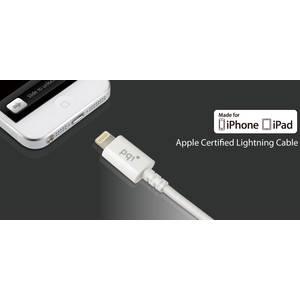 PQI Cablu Lightning Apple alb