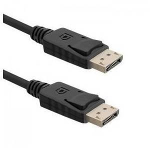Qoltec Cablu DisplayPort v1.2 Black