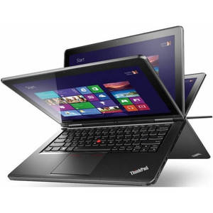 Laptop Lenovo S1 Yoga 12.5 inch Full HD Touch Intel Core i7-4510U 8GB DDR3 256GB SSD Windows 8.1 Black Renew