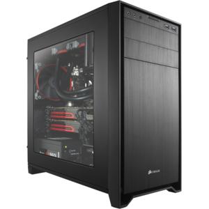 Sistem desktop ITGalaxy BlackCorsair Gamer Intel Core i7-6700K Quad Core 4 GHz 16Gb DDR4 2400MHz  240 GB SSD 1TB HDD GTX 1070 8GB DDR5 256bit