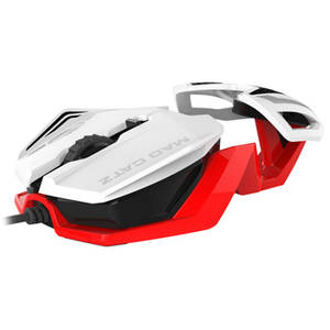Mouse Saitek Mad Catz R.A.T. 1  3500dpi  White/Red