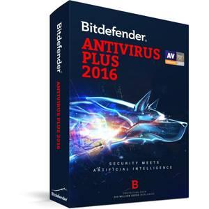 Antivirus BitDefender Plus 2016 1 user 1 an
