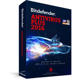 Antivirus BitDefender Plus 2016   10 useri 1 an