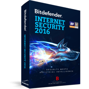 BitDefender Internet Security 2016  1 user 1 an