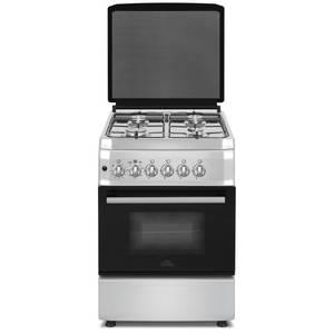 Aragaz Studio Casa FG60/60 Inox gaz 4 arzatoare grill rotisor