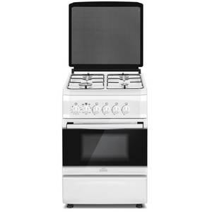 Aragaz Studio Casa FG60/60 Bianco gaz 4 arzatoare grill rotisor