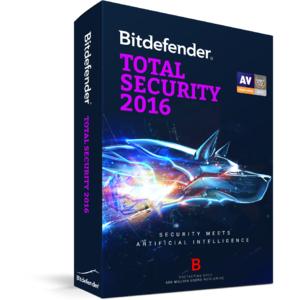 BitDefender Total Security 2016 1 user 2 ani