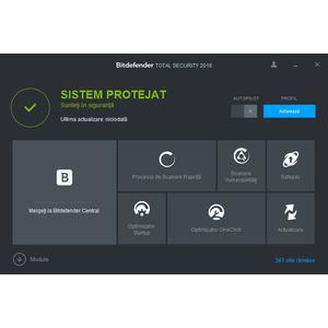 Antivirus BitDefender Total Security 2016 1 user 2 ani
