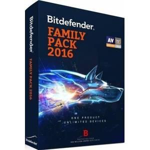 Antivirus BitDefender Family Pack 2016  2ani