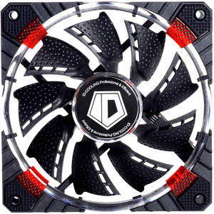 Ventilator ID-Cooling CF-12025-R 120mm Concentric Circular Red LED