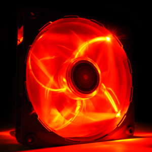 Ventilator NZXT 120mm, Red LED