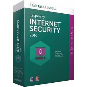 Antivirus Kaspersky Internet Security 2016  1 PC +1 Gratis 1 An