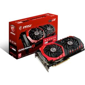 Placa video MSI AMD Radeon RX 480 GAMING X 4GB DDR5 256bit