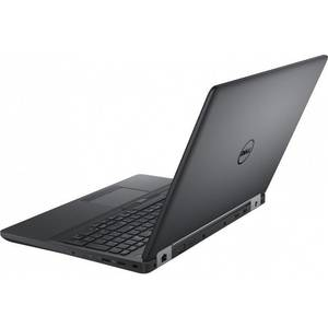 Laptop Dell Precision 3510 15.6 inch Full HD Touch Intel Core i5-6300HQ 8GB DDR4 256GB SSD AMD FirePro W5130M 2GB Windows 7 Pro upgrade Windows 10 Pro Black