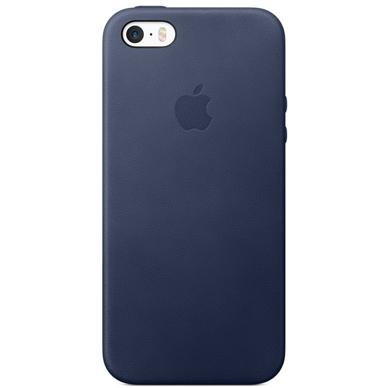 Husa Protectie Spate Iphone Se Leather Case - Midnight Blue
