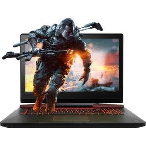 Laptop Lenovo IdeaPad Y900 17.3 inch Full HD Intel Core i7-6820HK 16GB DDR4 1TB HDD 256GB SSD nVidia GeForce GTX 980M 8GB Windows 10 Pro Black