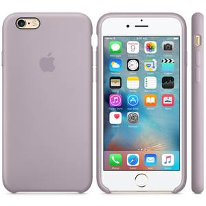 Husa Protectie Spate Apple iPhone 6s Silicone Case - Lavender