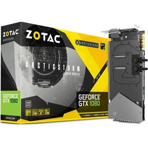 Placa video Zotac nVidia GeForce GTX 1080 ArticStorm 8GB DDR5X 256bit