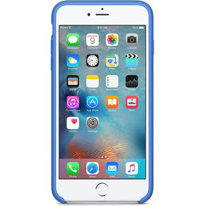 Husa Protectie Spate Apple iPhone 6s Plus Silicone Case - Royal Blue