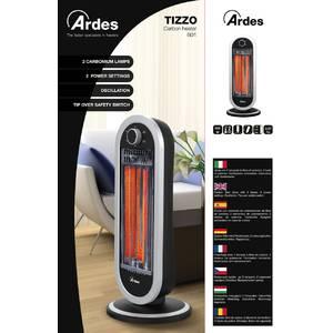Radiator Ardes AR4B01 900W 2 setari de caldura negru / argintiu