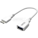 Cablu OTG USB 3.0. - microUSB White