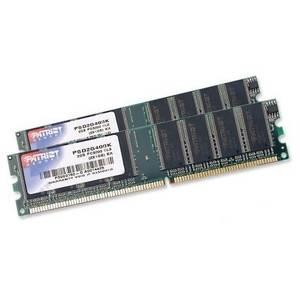 Memorie Patriot Signature Line 2GB DDR 400 MHz CL3 Dual Channel Kit