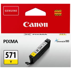 Consumabil Canon CLI571Y INK YELLOW