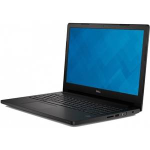 Laptop Dell Latitude 3570 15.6 inch Full HD Intel Core i5-6200U 8GB DDR3 1TB HDD nVidia GeForce 920M 2GB BacklitKB FPR Windows 7 Pro upgrade Windows 10 Pro Black