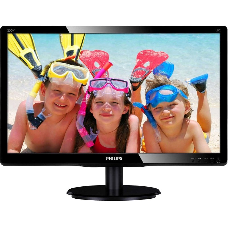 Monitor Led 200v4lab2/00 19.5 Inch 5ms Black