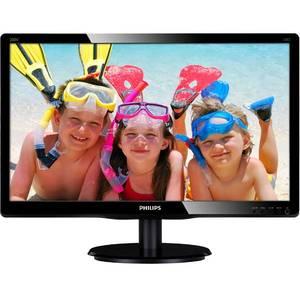 Monitor Philips LED 200V4LAB2/00 19.5 inch 5ms Negru