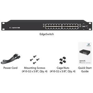 Switch Ubiquiti EdgeSwitch 24 porturi