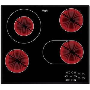 Plita incorporabila Whirlpool AKT 8210/BA electrica vitroceramica 4 zone neagra