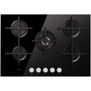 Plita incorporabila Whirlpool GOA 7523 NB gaz 5 arzatoare neagra