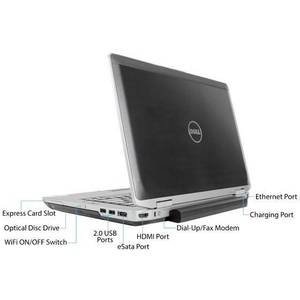 Laptop refurbished Dell Latitude E6430 i5-3320M 2.6GHz 4GB DDR3 320GB HDD 14inch Windows 10 Home