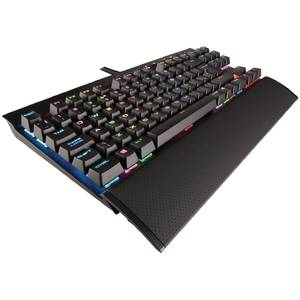Tastatura gaming Corsair K65 Cherry MX RGB LED USB Black