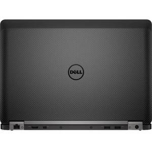 Laptop Dell Latitude E7470 14 inch Quad HD Touch Intel Core i7-6600U 8GB DDR4 256GB SSD FPR 4G Windows 10 Pro Black