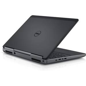 Laptop Dell Precision 7710 17.3 inch Ultra HD Intel Core i7-6820HQ 32GB DDR4 1TB HDD 512GB SSD nVidia Quadro M3000M 4GB FPR Windows 10 Pro Black